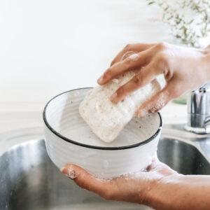 Eco Dishwashing Sponge Pad - Medium