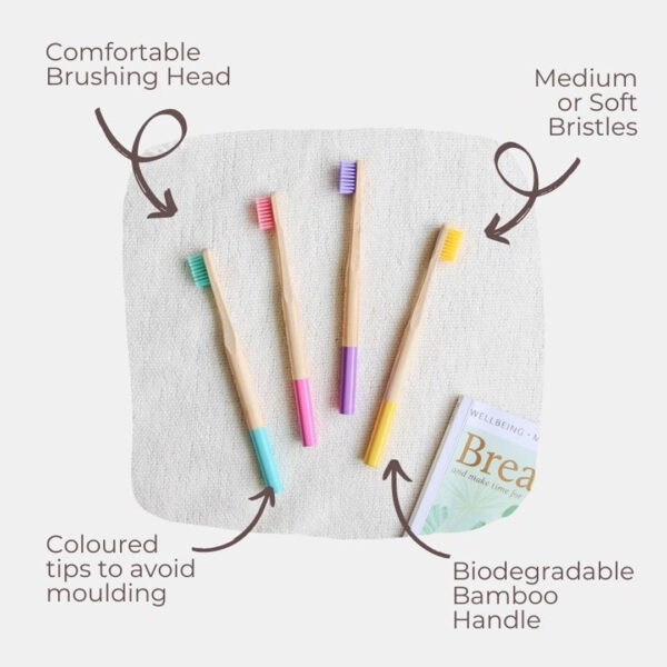 Bamboo Dental Toothbrush