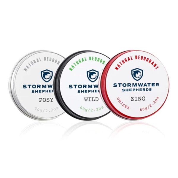 Stormwater Shepherds Natural Deodorant 60g