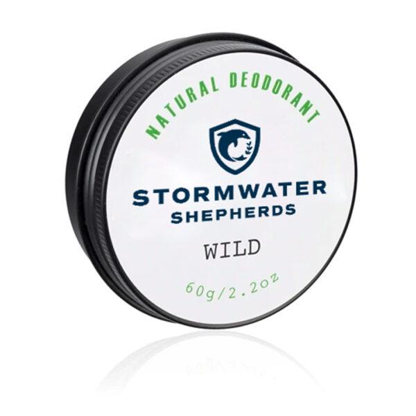 Stormwater Shepherds Natural Deodorant Wild 60g